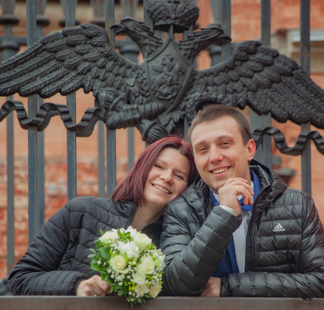 Свадебная пара недели: Кристина и Всеволод. Даугавпилс, 29 марта 2019 года. Фото: Пётр Евсеев
