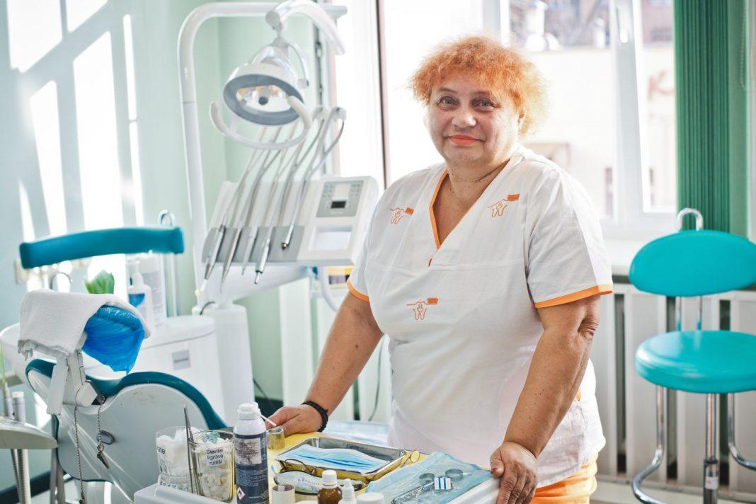 Галина Герасимович - тюремный стоматолог