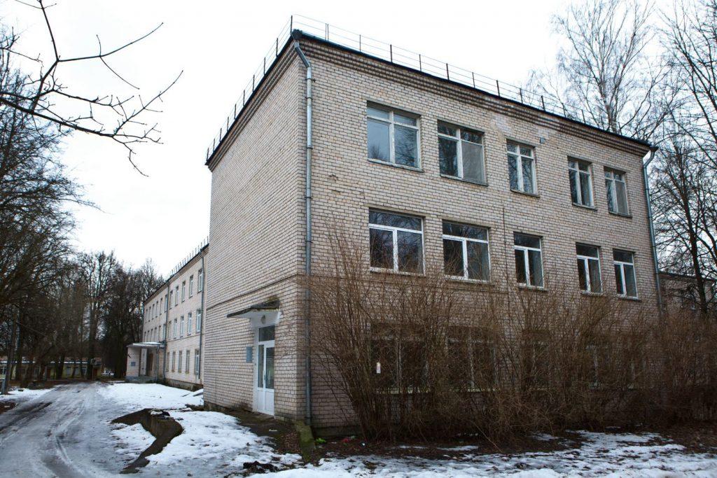 Здание бывшей онкологической больницы