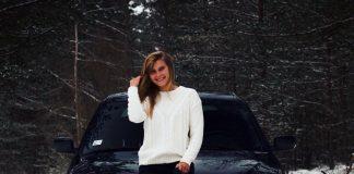 Sandra Step - девушка-автомеханик