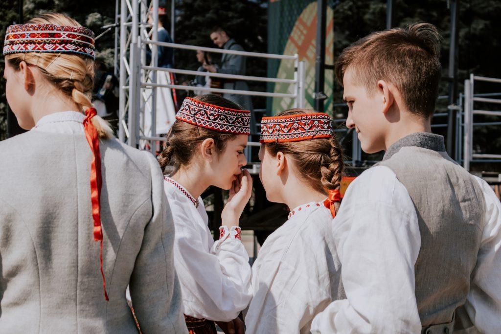 Второй день Пасхи в Даугавпилсе.