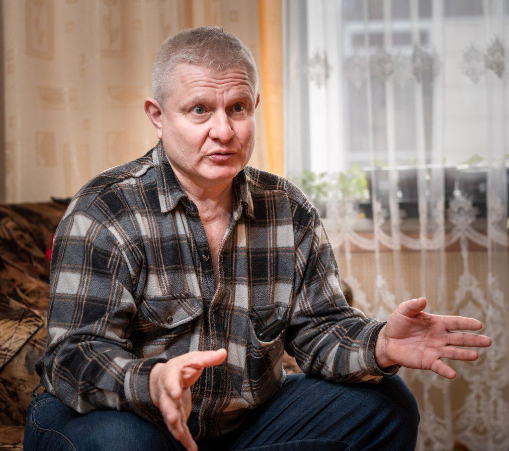 Ликвидатор аварии на Чернобыльской АЭС Виктор Кокин