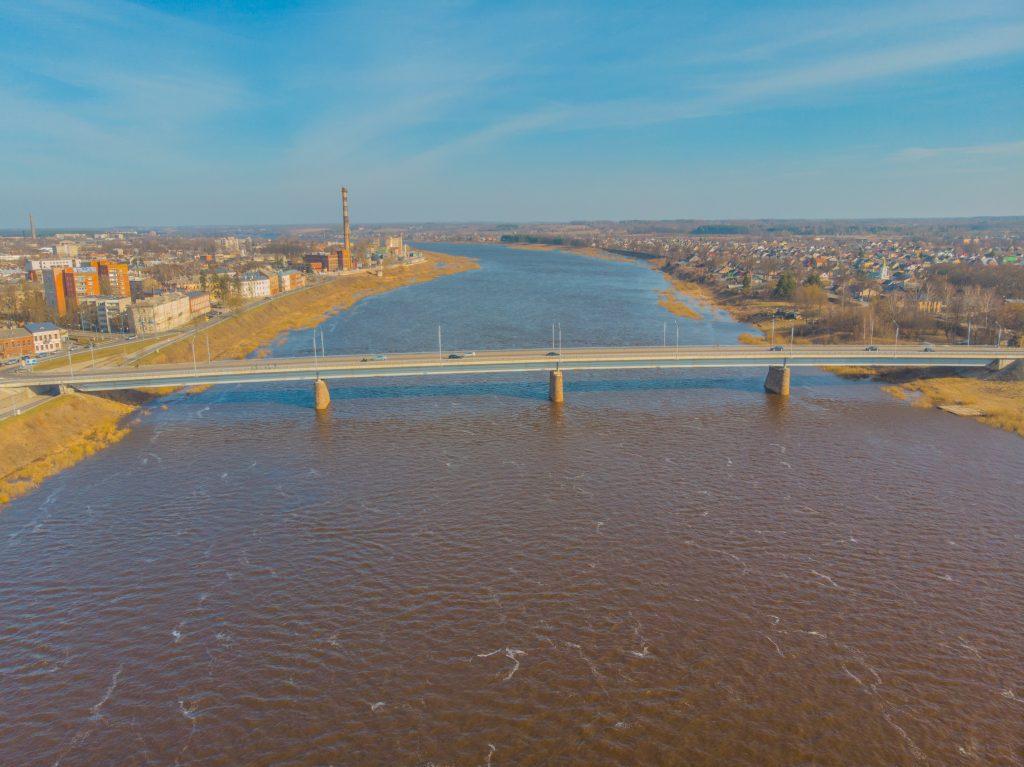 Мост Единства через Даугаву
