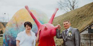 Свадебная пара недели: Сандра и Сергей