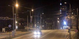 Скриншот с видеозаписи Даугавпилсской муниципальной полиции