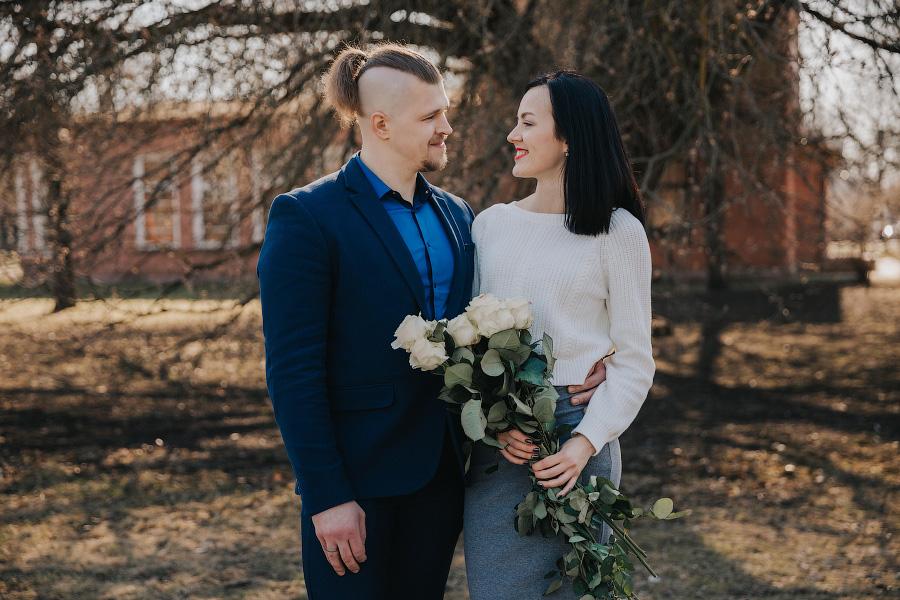 Свадебная пара недели: Ольга и Арнис