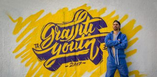 Эдгар Ларго. Проект Erasmus+ Graffiti Youth (2017)