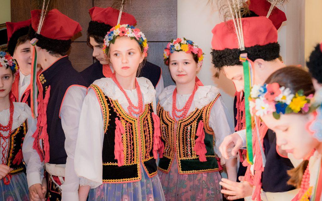 """Концерт фестиваля """"Польский фольклор в Латгалии"""" в Даугавпилсе"""