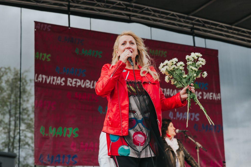 """Концерт группы """"Эолика"""" в Даугавпилсе. 4 мая 2019 года. Ольга Раецка."""