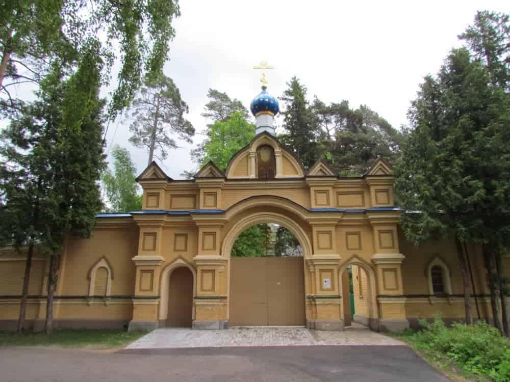 Филиал Рижского Свято-Троице-Сергиева женского монастыря (Валгундский монастырь) в Елгаве.