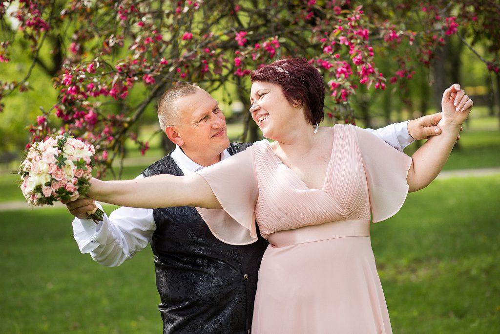 Свадебная пара недели. Инета и Ромуальд