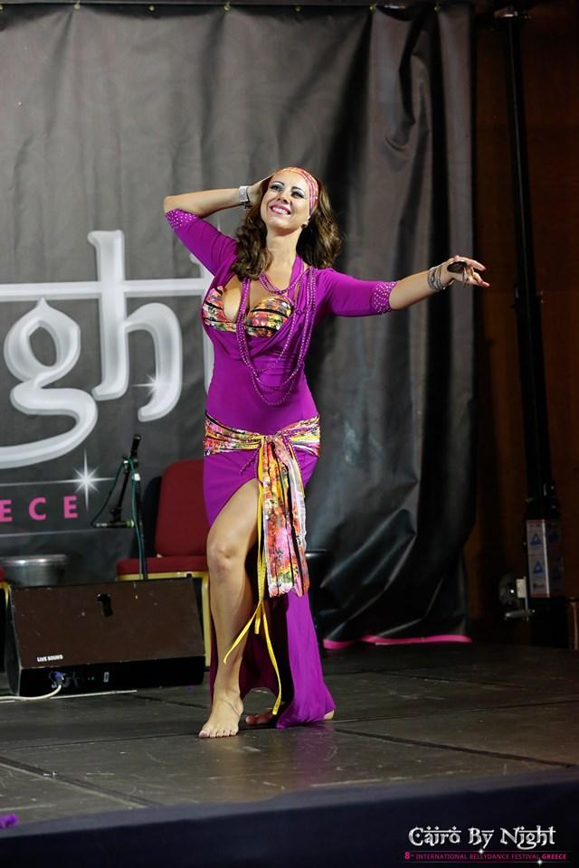 Татьяна на Фестивале восточных танцев в Греции