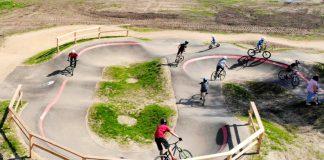 Велопарк в Балви
