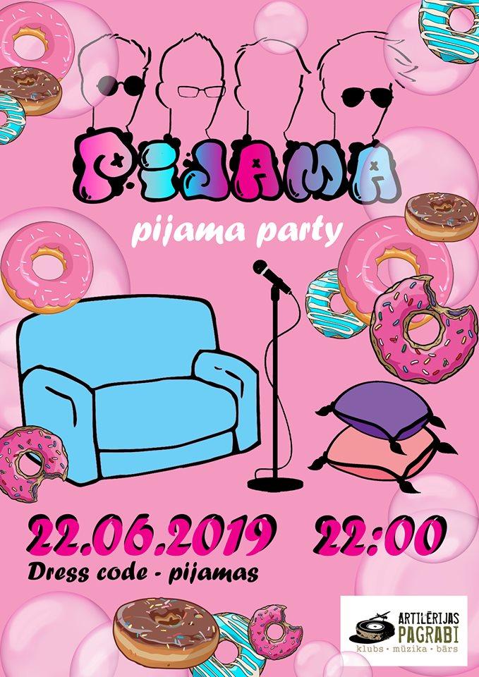 Афиша Pijama party