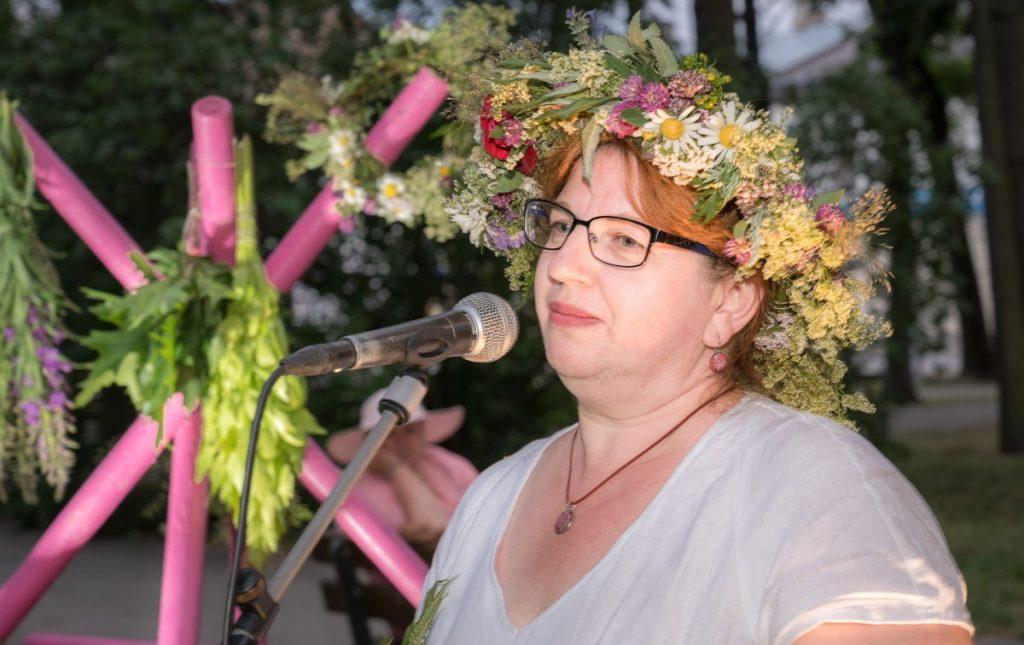 День летнего солнцестояния в Даугавпилсе. Дзинтра Абароне рассказывает о силе латвийских трав.