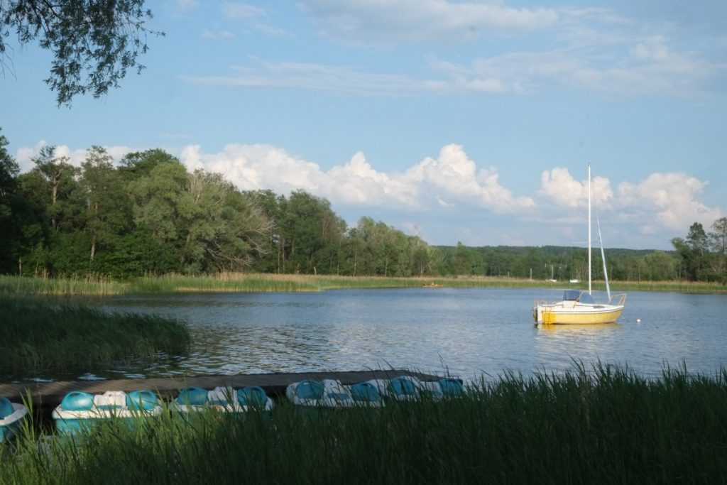 Озеро Рубикяй в Аникщяе