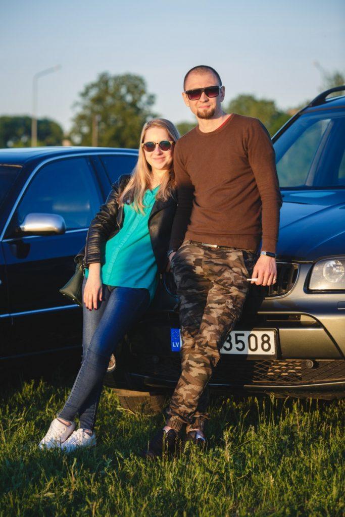 """Участники даугавпилсского клуба автолюбителей """"Drive 2 Daugavpils"""""""