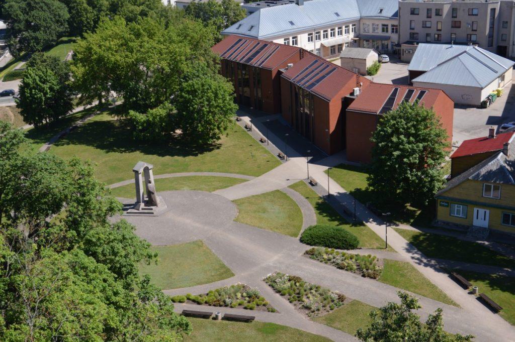 Вид со смотровой площадки костёла Святого апостола евангелиста Матаса. Фото Ирина Мазурика