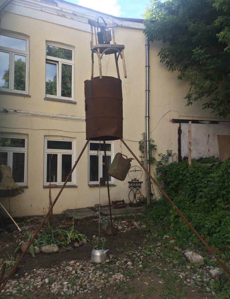 Арт-подворотня в Витебске