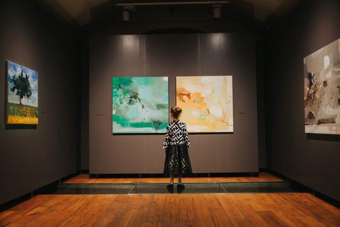Открытие выставки новых оригиналов Марка Ротко в Даугавпилсском Арт-центре. 12 июля 2019 года. Экспозиция летнего сезона