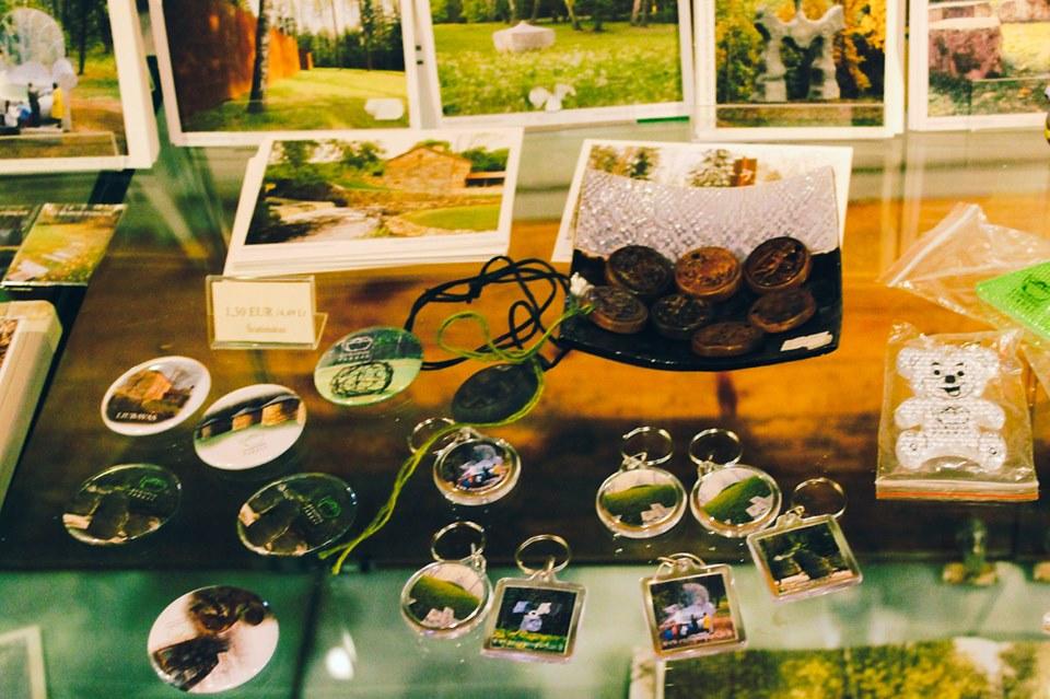 Магазин сувениров Парка Европы