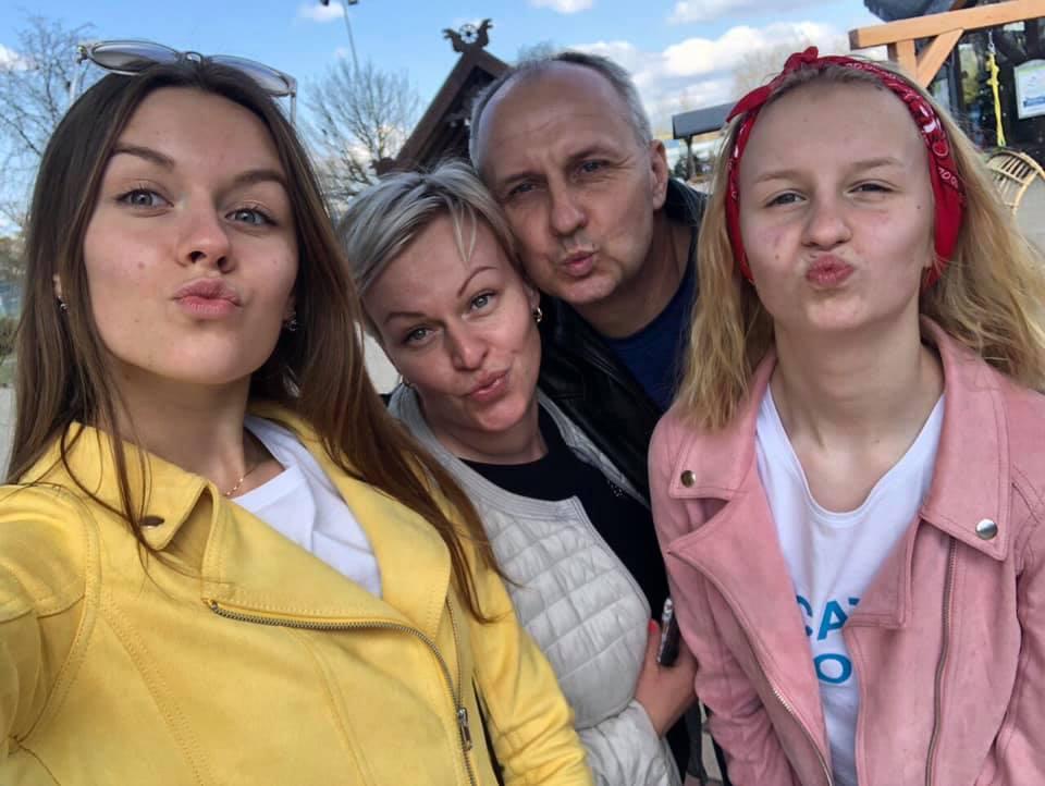 Семья Снежанны Мешковской