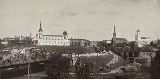 Снимок с крыши тюрьмы. 1920-30-е. Автор неизвестен