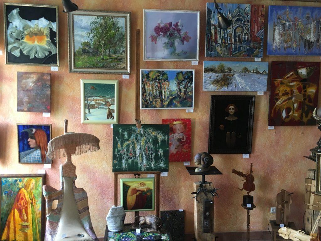 В художественном салоне Витебска