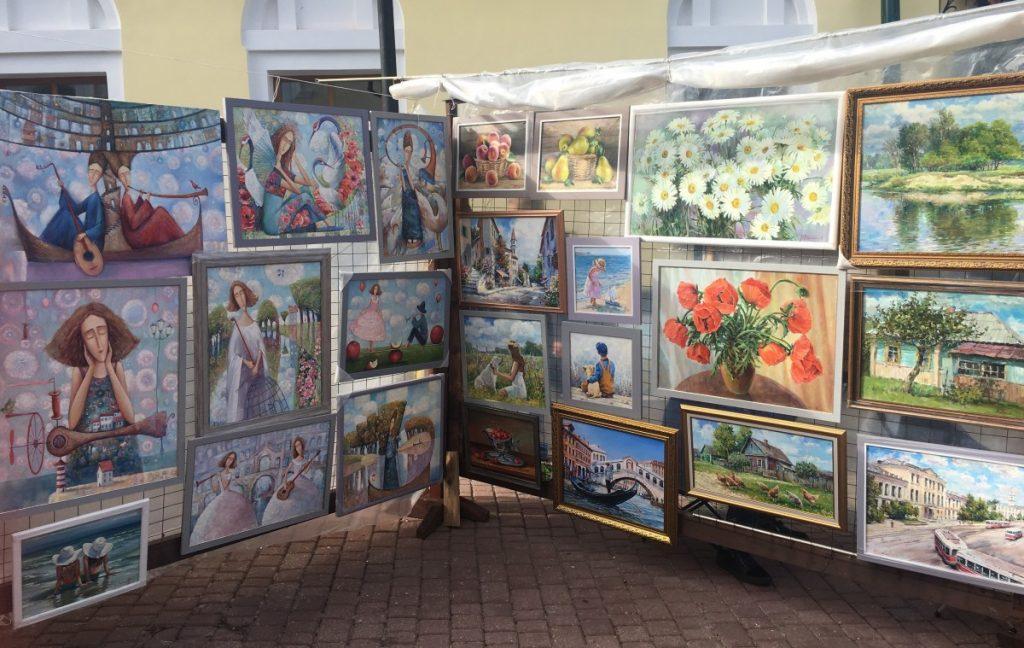 Выставка-продажа картин в Витебске