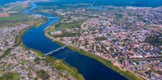 Даугавпилс. 20 августа 2019 года. Фото с дрона: Евгений Ратков