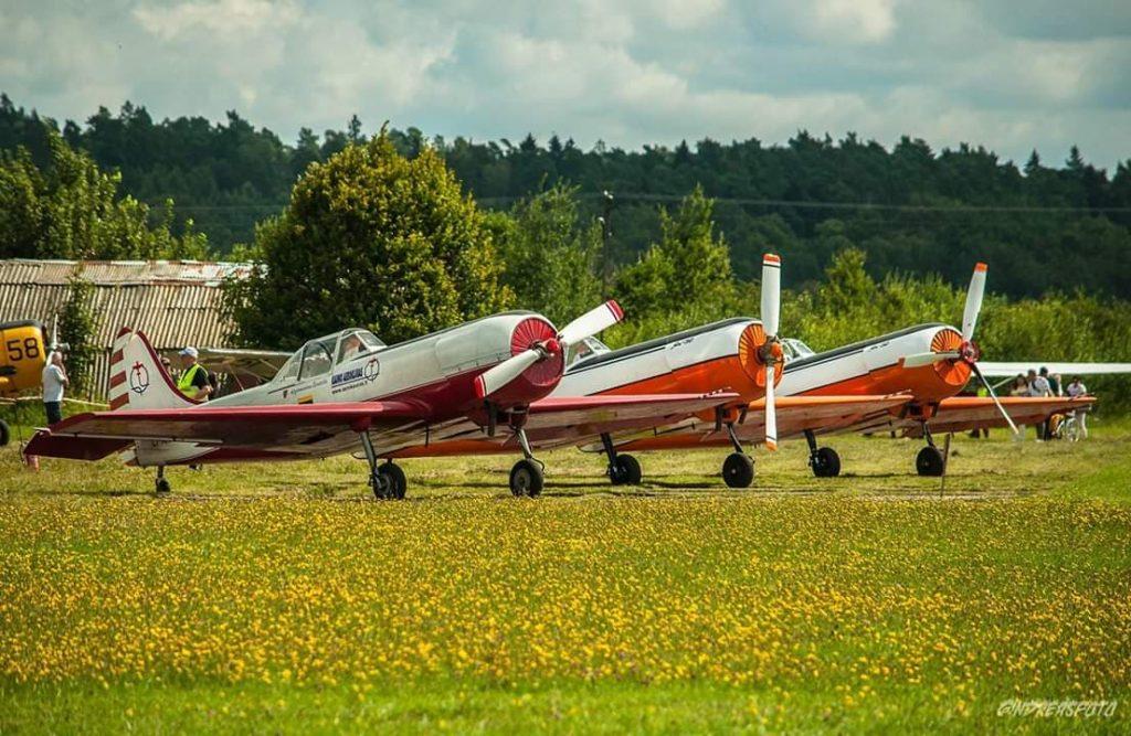 Пилотажная группа Aerobatic team ANBO в Даугавпилсе