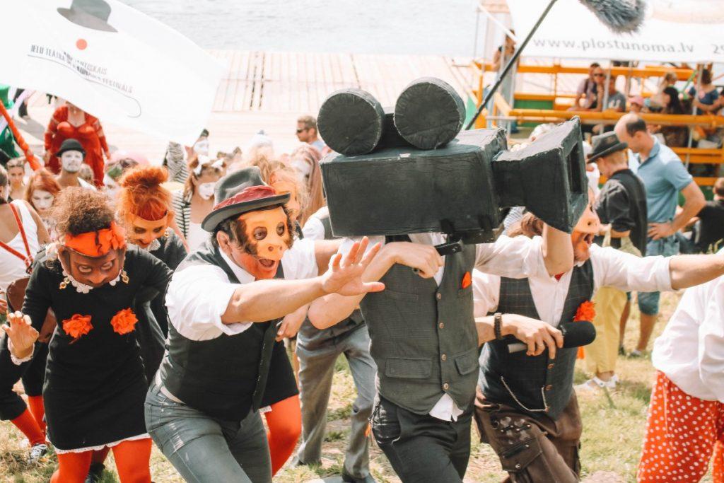 Международный фестиваль уличного театра и клоунады в Даугавпилсе. 17 августа 2019 года