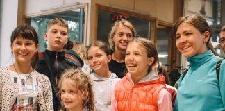 Дети с Украины в Даугавпилсе