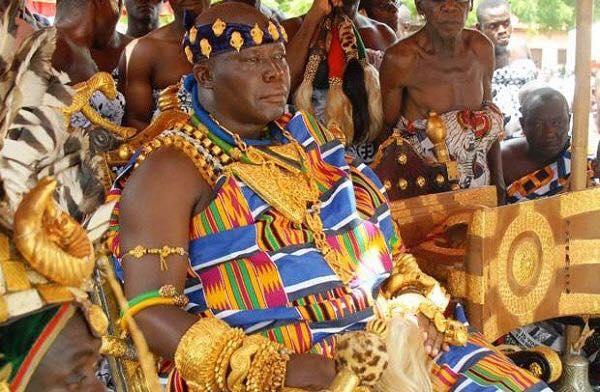 Король одного из регионов Ганы. Фото из личного архива Алисы Мишковской