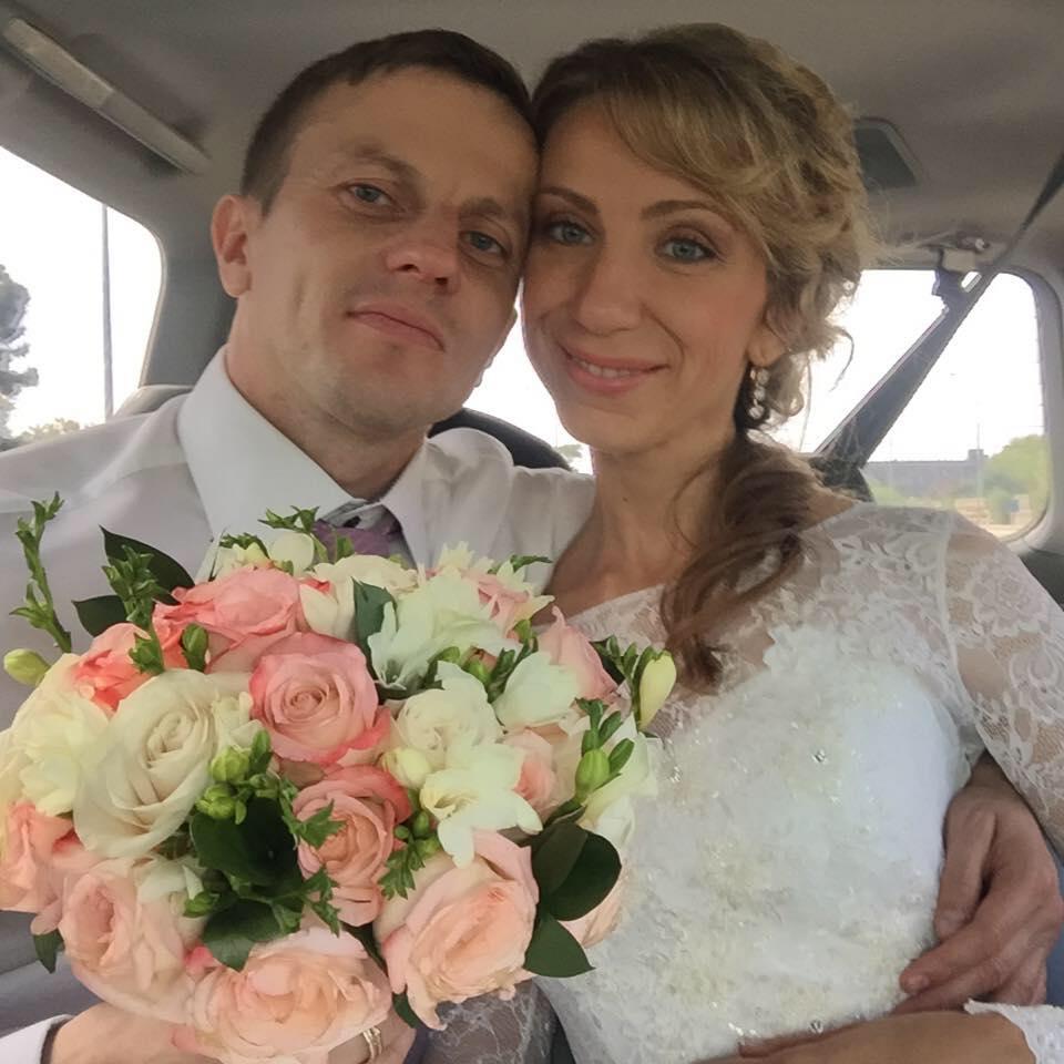 Игорь Огинский с женой Натальей. Фото из личного архива