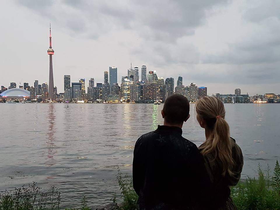Игорь Огинский в Торонто. Фото из личного архива