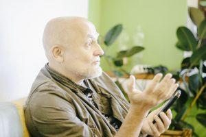 Директор Латгальского зоосада Михаил Пупиньш. Фото: Евгений Ратков