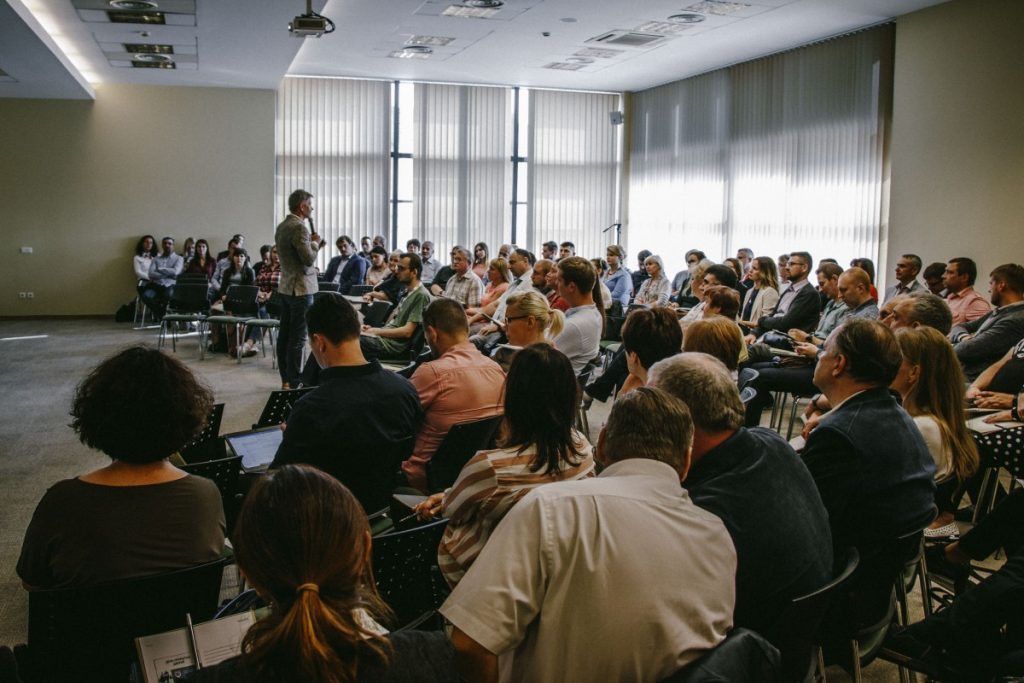 Встреча бизнесменов в Даугавпилсе. 12 сентября 2019 года