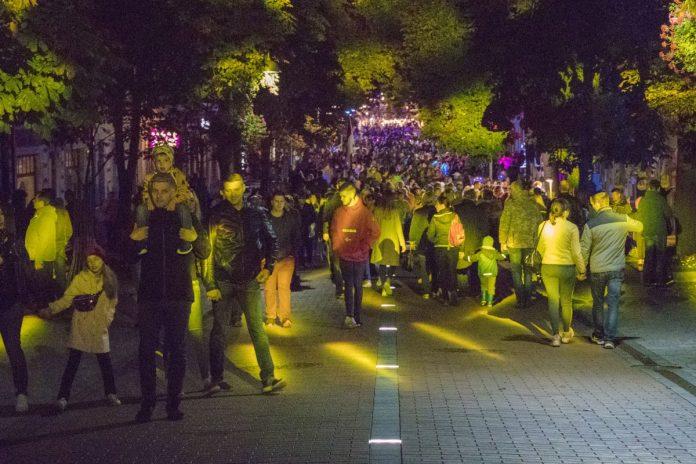 Праздник улицы Ригас в Даугавпилсе. 14 сентября 2019 года. Фото: Евгений Ратков