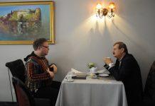 Борис Тетерев и Андрей Шаврей. Фото из архива Андрея Шаврея