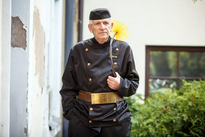 Трубочист Георгий Кудрявский
