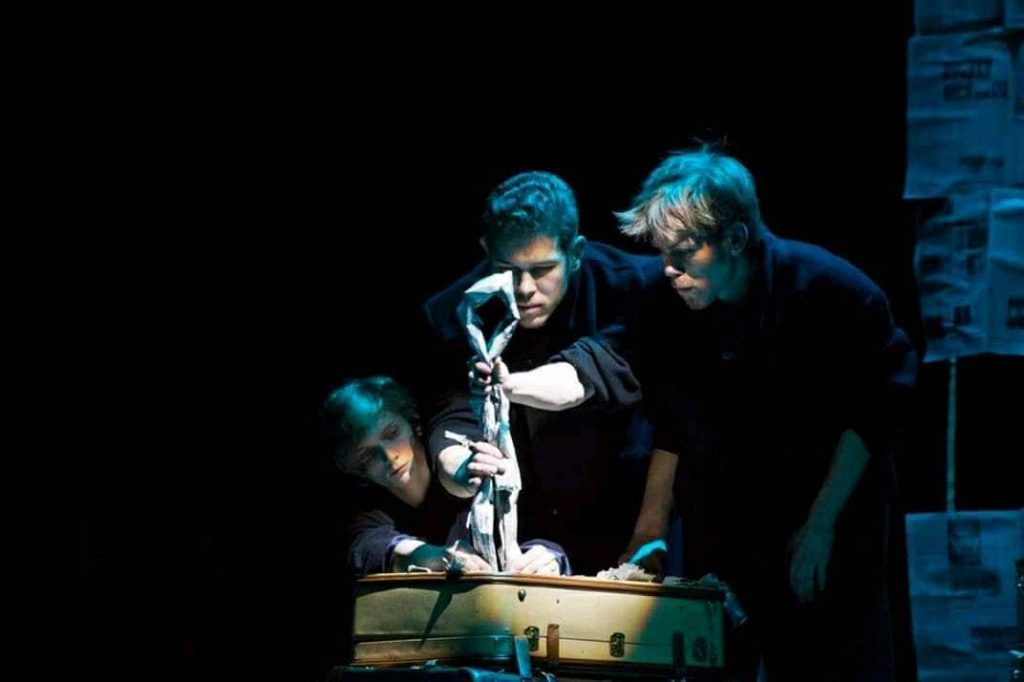 Театральная лаборатория в Даугавпилсе. Фото из архива Виктора Янсона