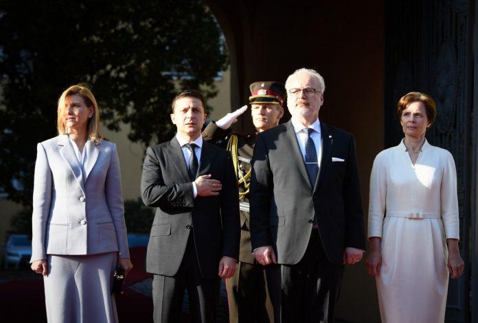 Визит Владимира Зеленского в Ригу. Фото: president.lv