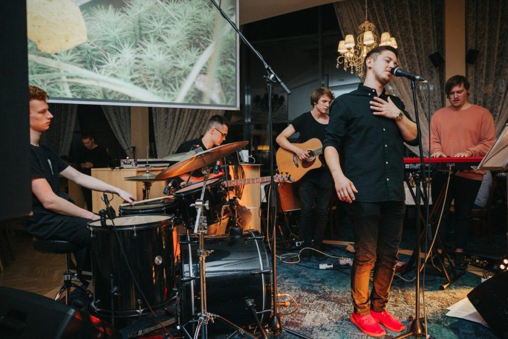 Презентация первого клипа группы Maffiz. Даугавпилс, 10 октября 2019 года. Фото: Ирина Маскаленко