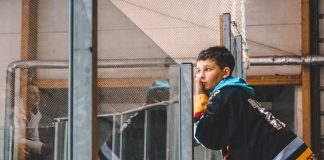 "Матч между ХК ""Динабург"" и ХК ""Курбадс"". Даугавпилс, 9 октября 2019 года. Фото: Настя Гавриленко"