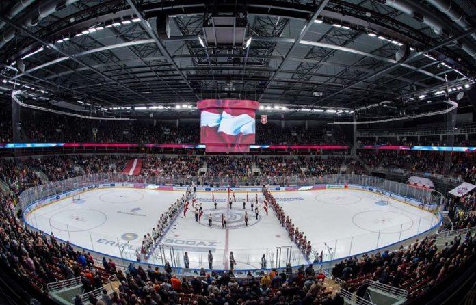 Стадион Arena Rīga 18 ноября 2019 года. Фото: Dinamo Rīga