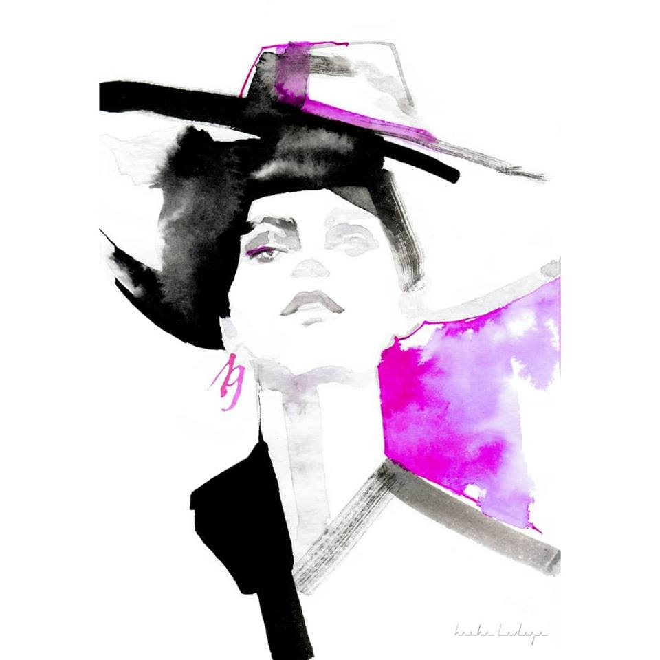 Фото: Modes ilustrāciju kursi/ Fashion illustration course/ Kурс Фешн-иллюстрации