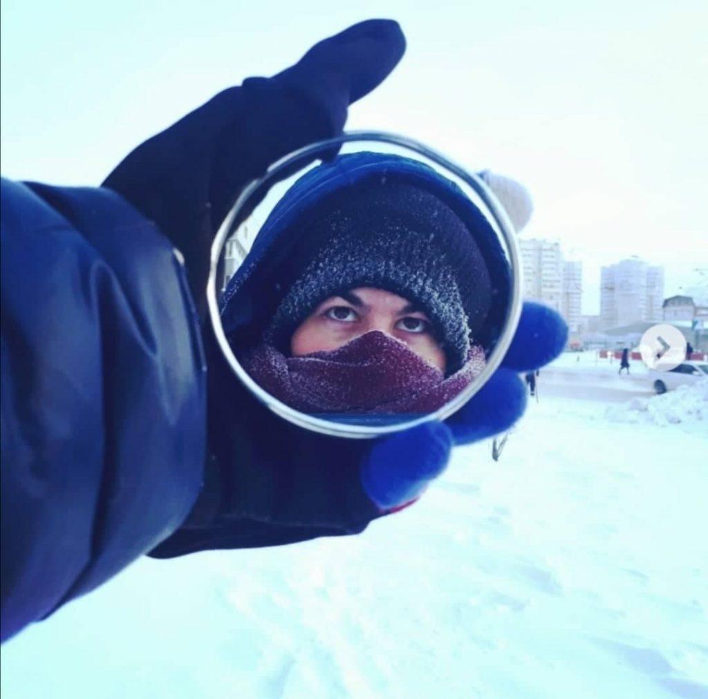 Путешественница Марта Негро. Барнаул, Россия. Фото из личного архива