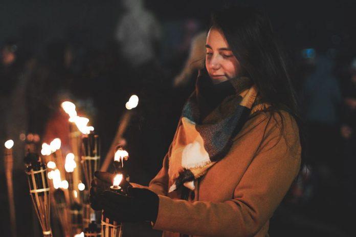 День независимости Польши в Даугавпилсе. Фото: J.Pilsudska Daugavpils valsts poļu ģimnāzija