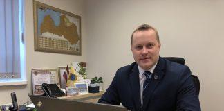Гинтс Кукайнис, председатель Краевой думы Смилтене (до 27.11.2019). Фото: Мария Кобызева